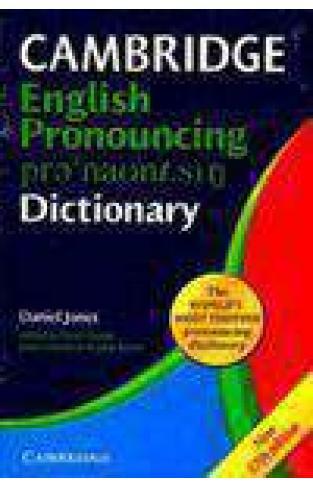Cambridge English Pronouncing Dictionary17 Edition
