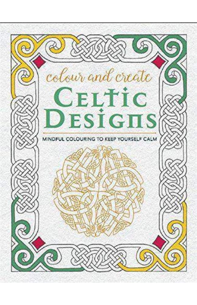 Colour and Create Celtic Designs