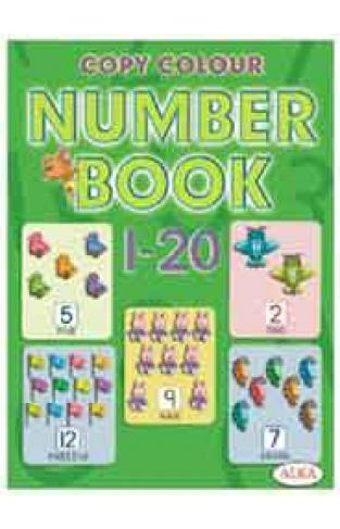 Copy Colour Number Book 120