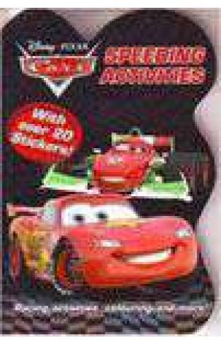 Disney Pixar Cars Speeding Activities Colour Sticker & Activity