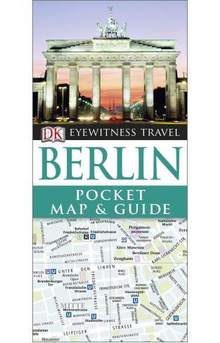DK Eyewitness Pocket Map and Guide Berlin