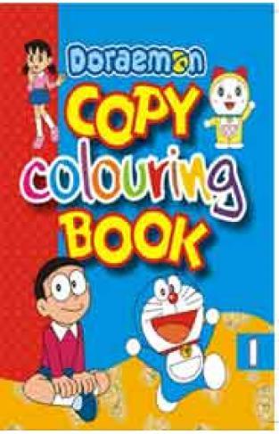 Doraemon Copy Colouring 1