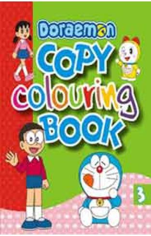 Doraemon Copy Colouring 3