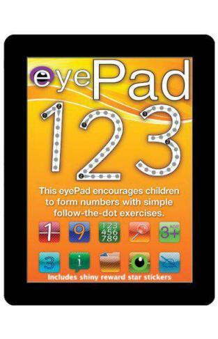 eyePad 1 2 3 Eyepad Activity Books