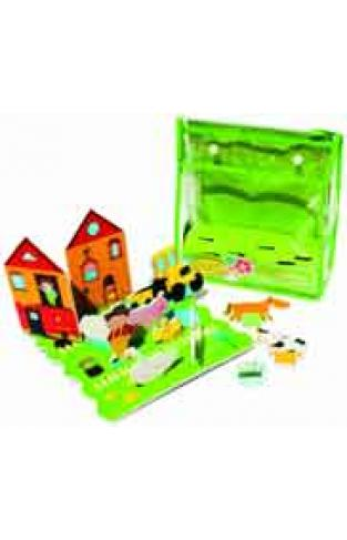 Farmyard Floating Activity Scenes