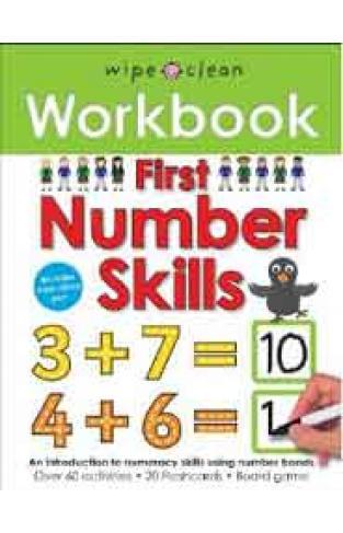 First Number Skills Wipe Clean Workbooks -