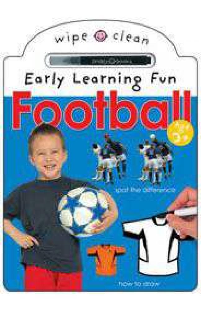 Football Wipe Clean Early Learning Fun