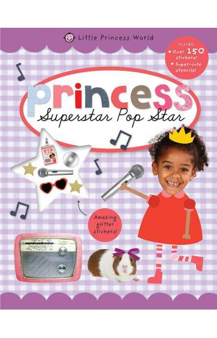 Little Princess World Sticker Activity