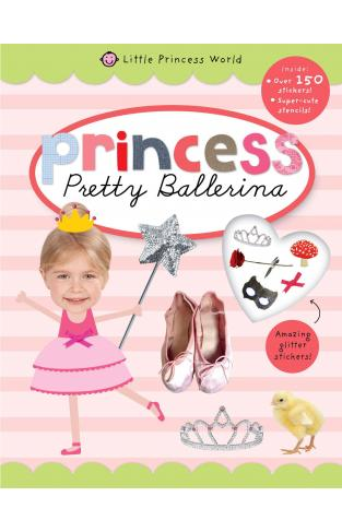 Little Princess World Sticker Activity -
