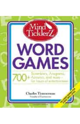 Mind Ticklerz Word Games: 700+ Scramblers Anagrams Acrostics and more  for hours of entertainment -