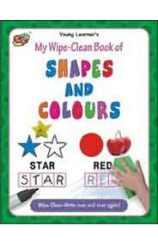 My Wipe Clean Book of Shapes And Colours