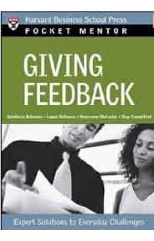 Pocket Mentor Giving Feedback