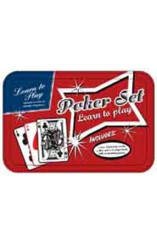 Poker Set Retro Tins