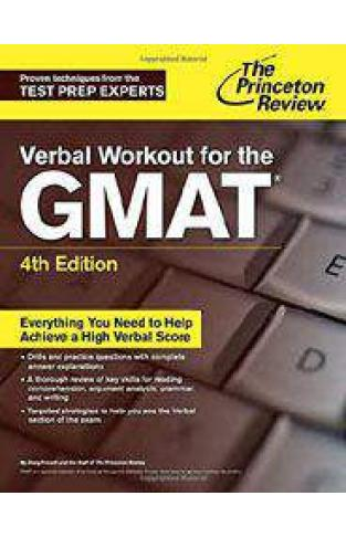 Verbal Workout for the GMAT 4th EditionGraduate School Test Preparation