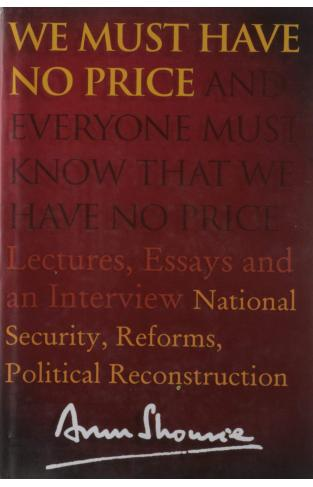 We Must Have No Price: National Security Reforms Political Reconstruction