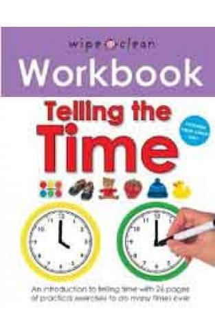 Wipe Clean Workbook Tell The TimeSpiral Bound