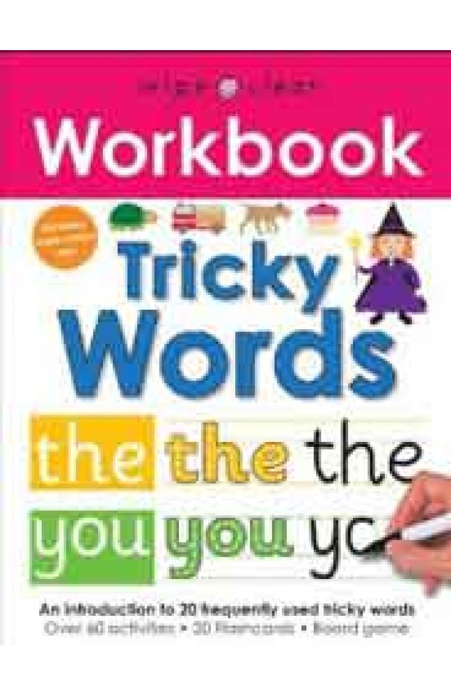 Wipe Clean Workbook Tricky WordsSpiral Bound