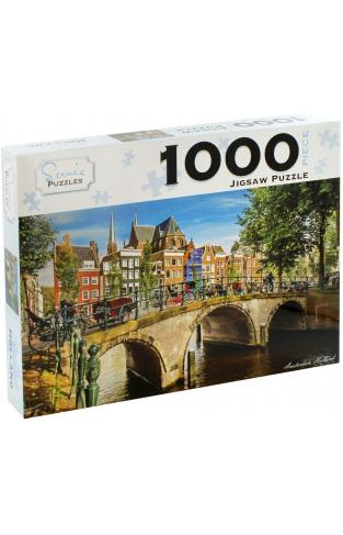 Amsterdam Holland 1000 Piece Jigsaw Puzzle
