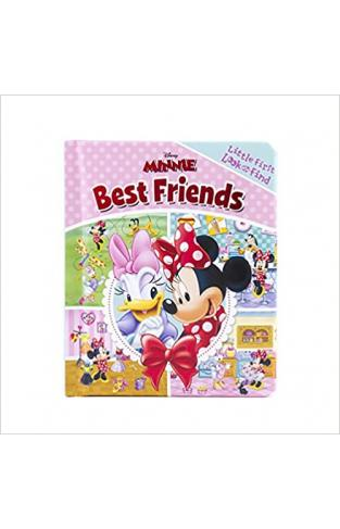 Disney Minnie Mouse - Best Friends Little First Look and Find - (BB)