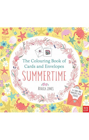 National Trust: The Colouring Book of Cards and Envelopes - Summertime