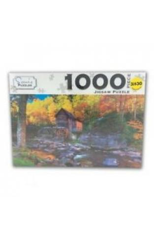 Scenic 1000 Piece Puzzles: West Virginia USA