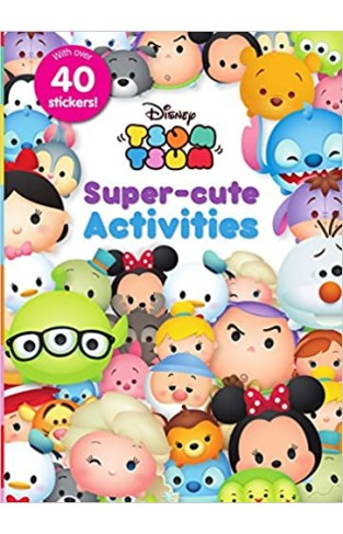 Disney Tsum Tsum Super-Cute Activities Paperback