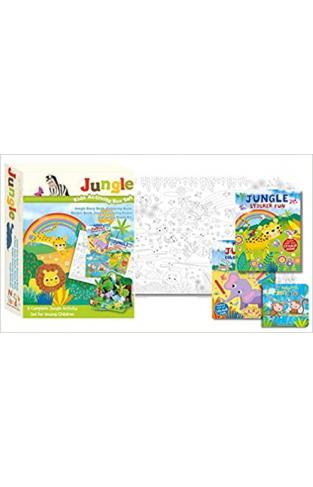 Kids Activity Box Set - Jungle Staple Bound