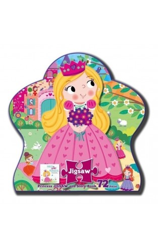 Shaped Jigsaw Princess - Box
