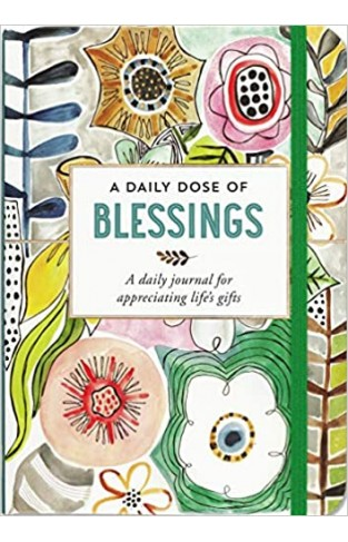 A Daily Dose of Blessings Journal (Diary, Notebook) - Hardcover