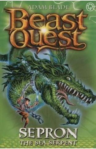 Beast Quest: (Series 1 Book2) Sepron the Sea Serpent - Paperback