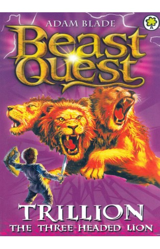 Beast Quest: Trillion - The Three-Headed Lion - Paperback