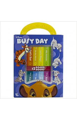 Busy Day My First Library 12 Board Book Block Set