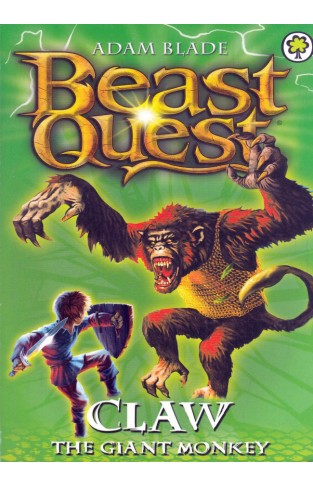 Claw the Giant Monkey: Beast Quest Series 2 Book 2 - Paperback