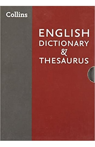 Collins English Dictionary and Thesaurus Boxed Set - (Box)