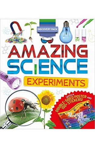 Discovery Pack Amazing Science Experiments - Hardcover
