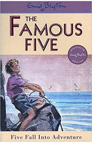 Five Fall Into Adventure: Book 9 (Famous Five) - Paperback
