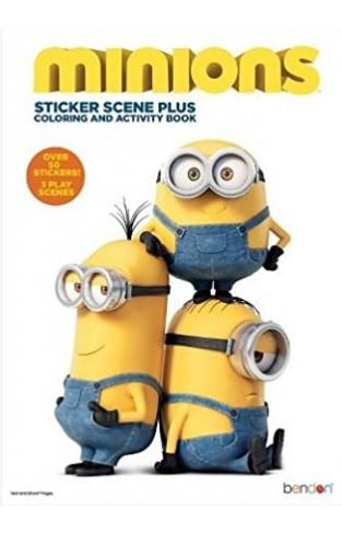 Minions Sticker Scene - Paperback
