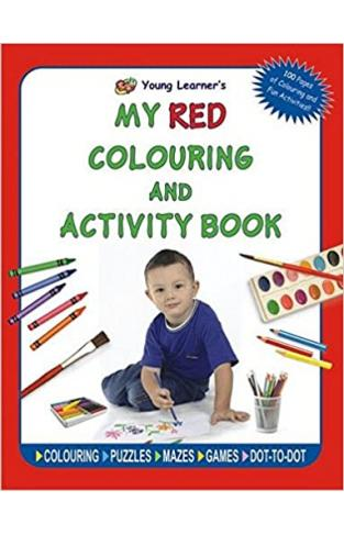 My Red Coloring and Activity Book