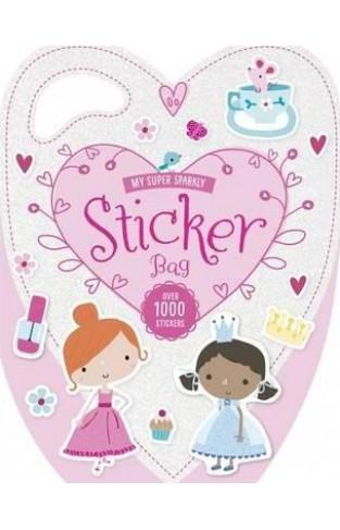 My Super Sparkly Sticker Bag (Glitter Bags) - Paperback