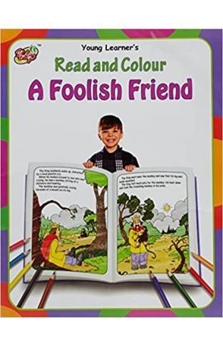 Read And Colour: A Foolish Friend - Paperback