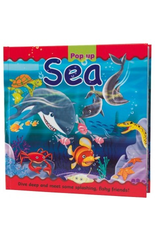 Sea Large Pop Up Book - Hardcover