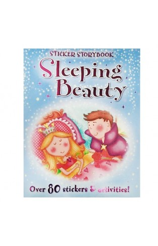 Sleeping Beauty: Sticker Story Book, Fairytales - Papaerback
