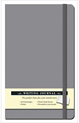 Solid Gray Journal - Hardcover