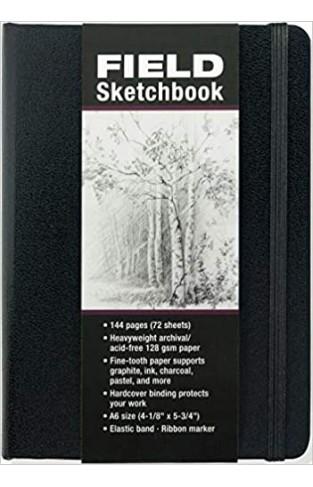 Studio Series A6 Field Sketchbook - Hardcover
