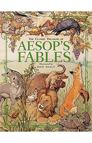 The Classic Treasury of Aesop's Fables - Hardcover