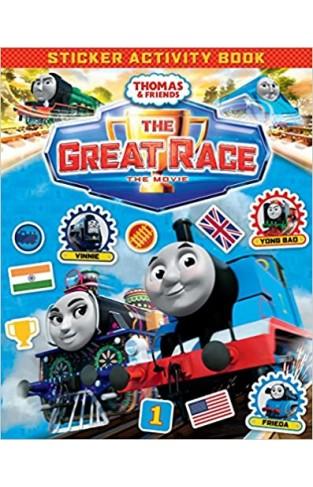 Thomas & Friends: The Great Race Movie Sticker Book - (PB)