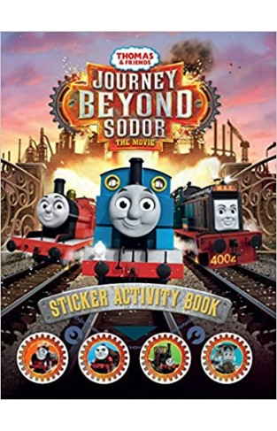 Thomas and Friends: Journey Beyond Sodor Sticker Activity Book - Paperback