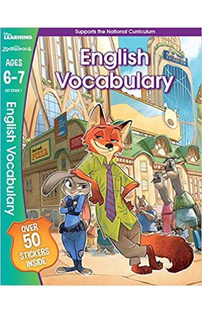 Zootropolis - English Vocabulary, Ages 6-7 (Disney Learning)