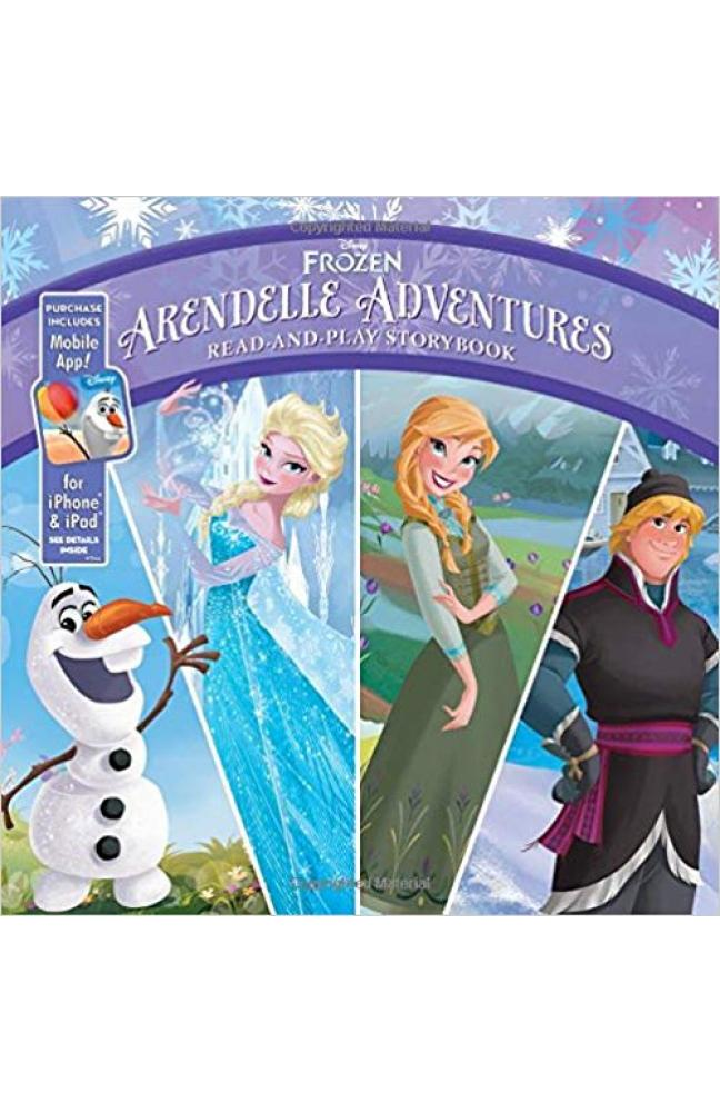 Frozen Arendelle Adventures: Read-And-Play Storybook: Purchase Includes Mobile App for iPhone and iPad!