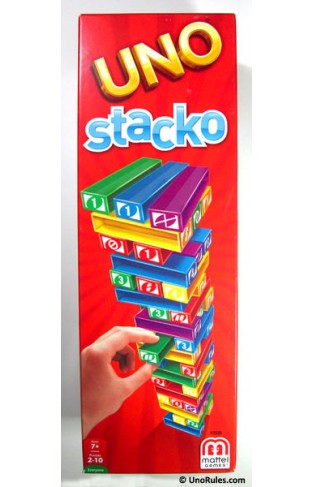 Uno Stacko Kids Toys Jenga Stacking Board Games Building Blocks for Kids